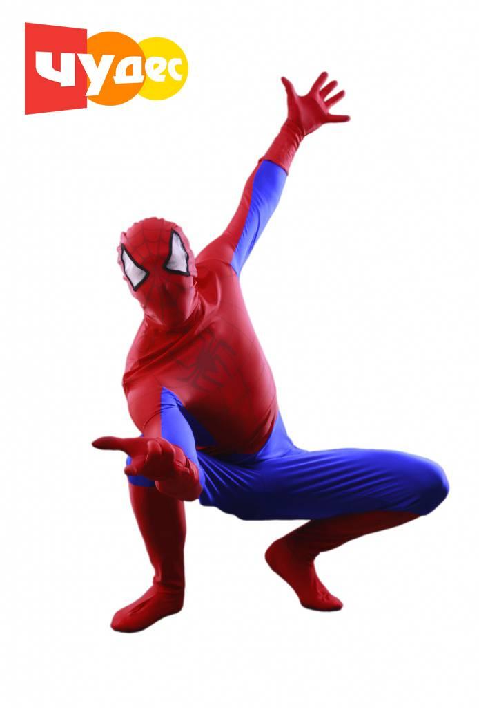 Живая открытка Человек-паук