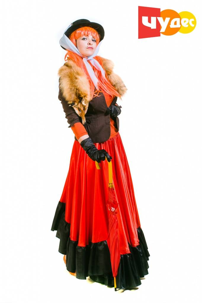 Лиса алиса новогодний костюм