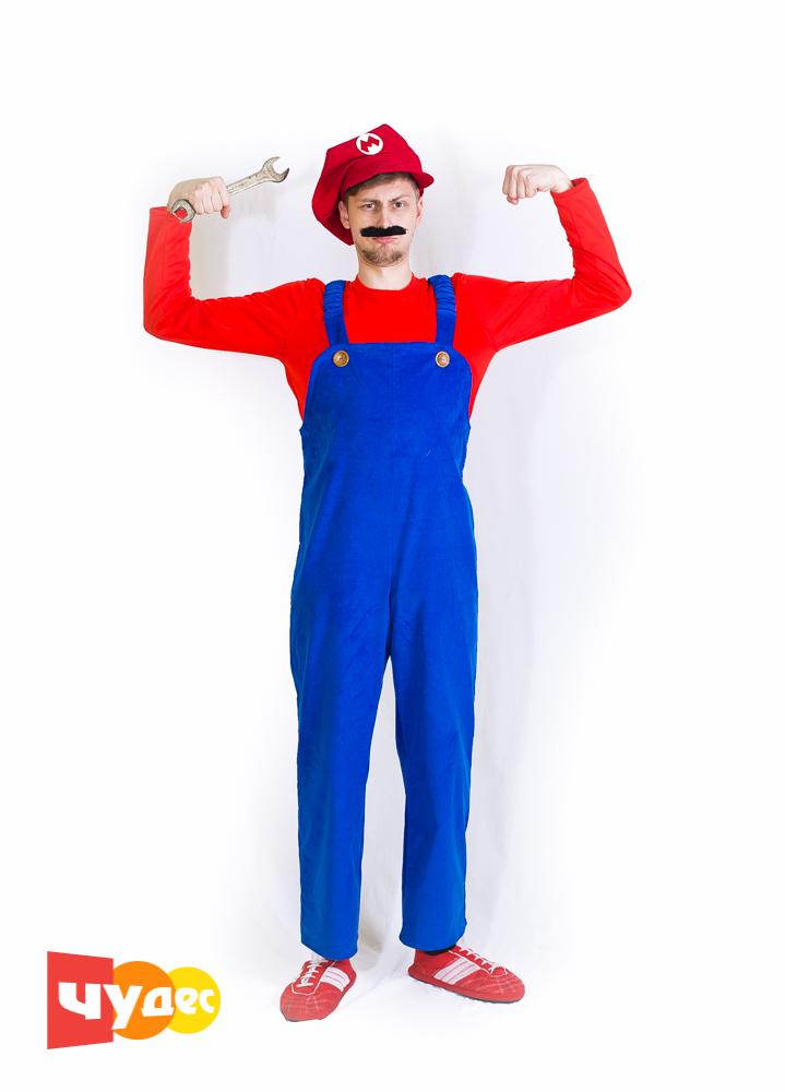 Живая открытка Марио