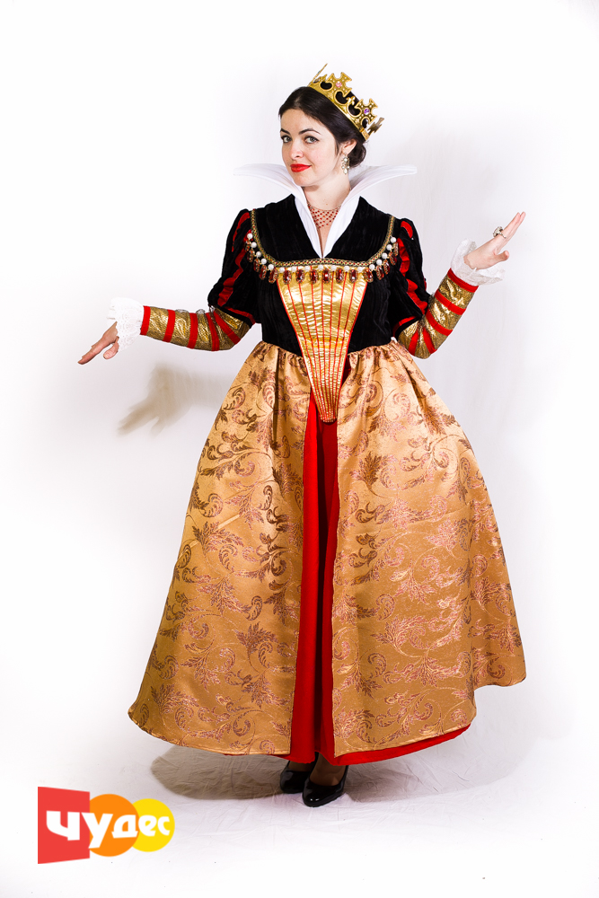 Живая открытка Средневековая Дама