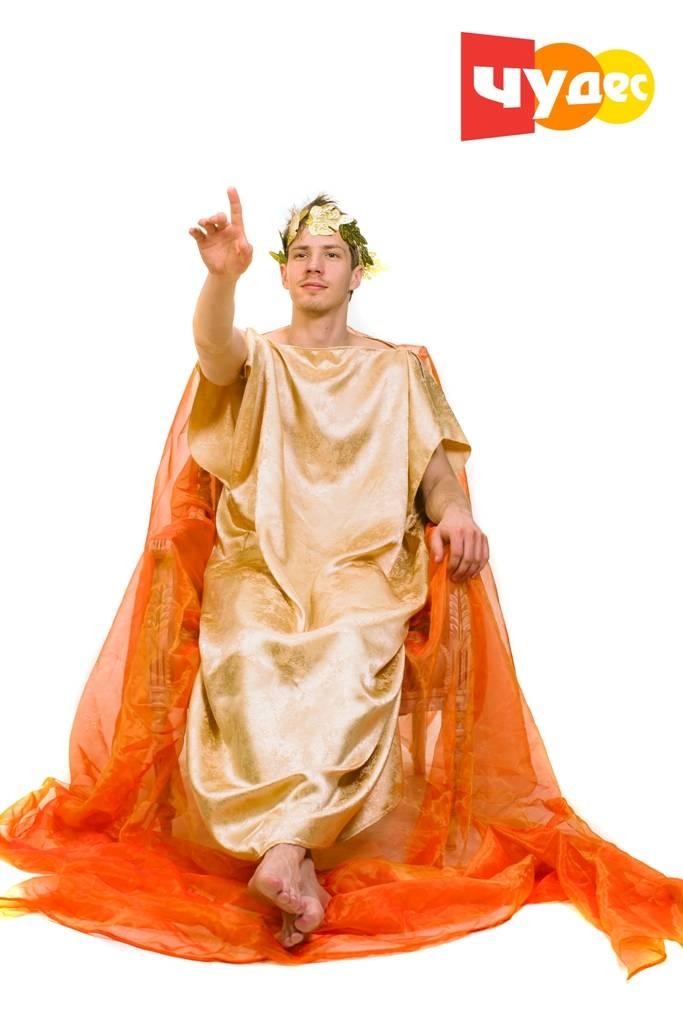 Живая открытка Греческий Бог