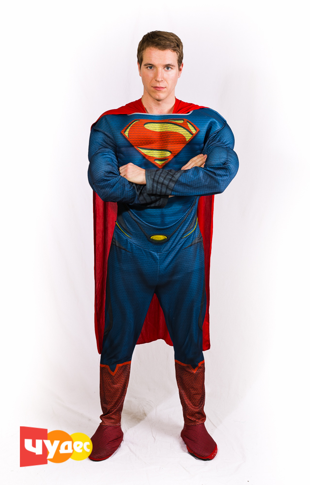 Живая открытка супермен